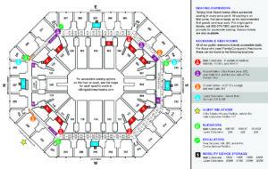 ADA Map Talking Stick Resort Arena