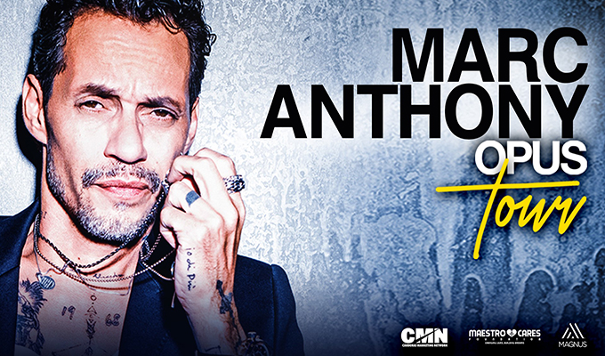Marc Anthony Opus Tour March 22nd at 7pm at Talking Stick Resort Arena