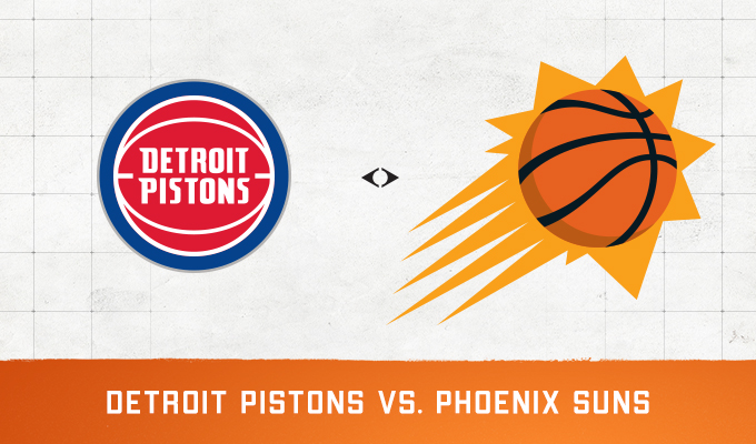 Detroit Pistons vs Phoenix Suns
