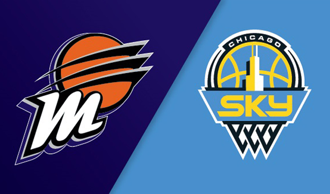 Phoenix Mercury vs Chicago Sky