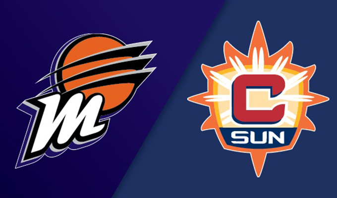 Phoenix Mercury vs Connecticut Sun