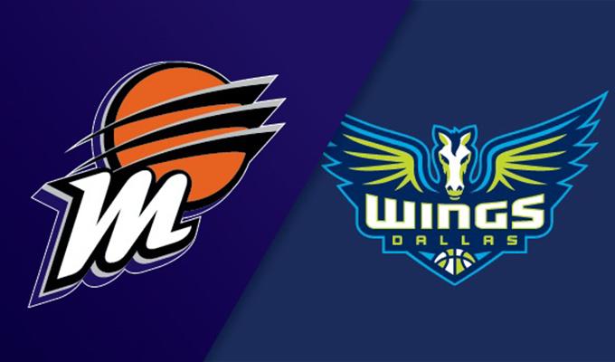 Phoenix Mercury vs Dallas Wings