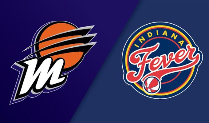 Phoenix Mercury vs Indian Fever