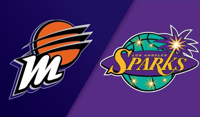Phoenix Mercury vs Los Angeles Sparks