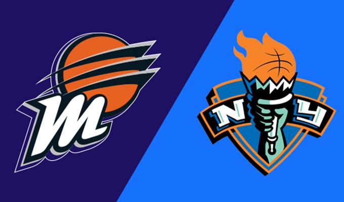 Phoenix Mercury vs New York Liberty