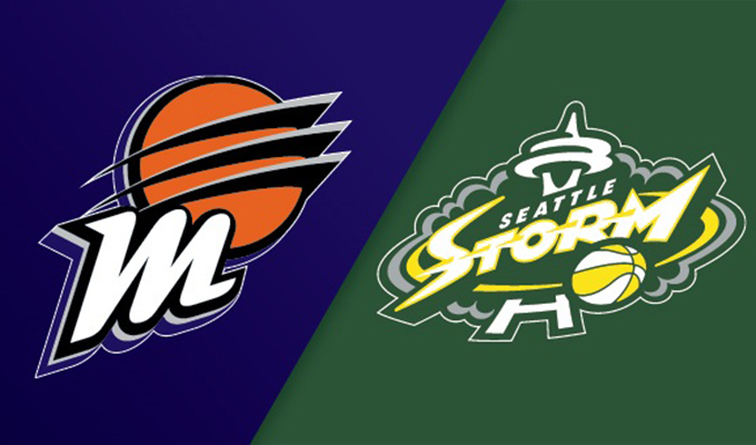 Phoenix Mercury vs Seattle Storm