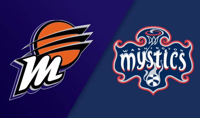 Phoenix Mercury vs Washington Mystics