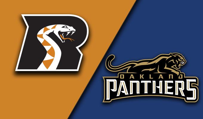 Arizona Rattlers vs Oakland Panthers
