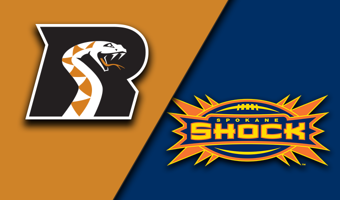 Arizona Rattlers vs Spokane Shock