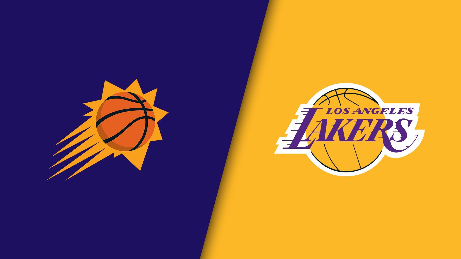 Phoenix Suns vs Los Angeles Lakers